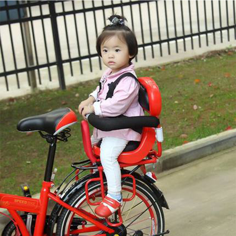 2017 New Sella Carbonio Cojines Saddle Selim Back Seat Mat Kids Plastic/pvc Bicycle Child Post Baby Safety Electric Rear Chair