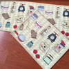 yazi Jacquard Food Theme Doormat Soft Fabric Home I Love Kitchen Floor Mat Anti Slip Rug Carpet 4 Size