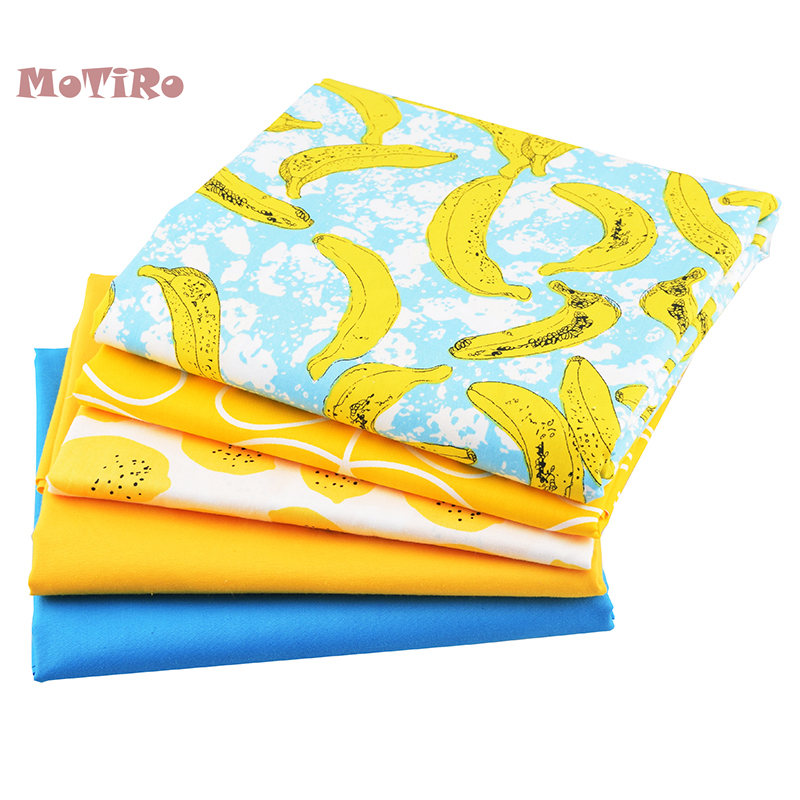 Fabric Logical Motiro,5pcs/lot,cotton Printed Twill Fabric Patchwork,fruits Series Cloth Material Of Craft/pillow/cloth/sewing/quilting/handmad