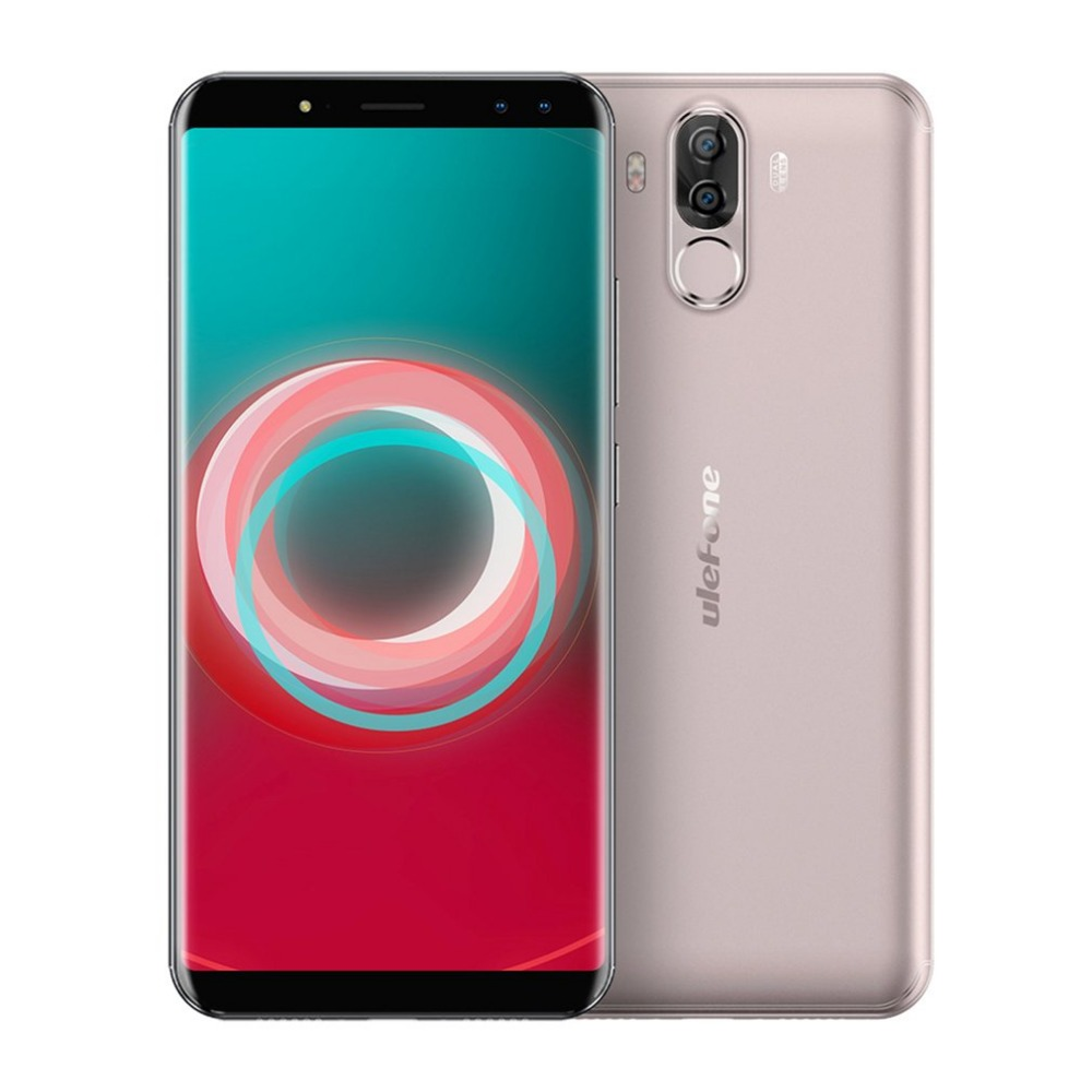 "Ulefone Power 3S 6.0""18:9 Full Screen Smartphone FHD MTK6763 Octa 6380mAh 4GB 64GB Face ID 4 Camera Android 7.1 Mobile phone"