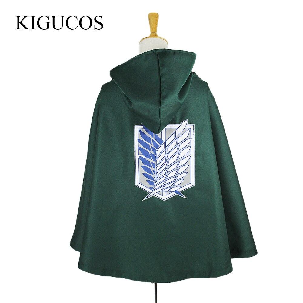 KIGUCOS 2 Colors Anime Shingeki No Kyojin Scouting Legion Eren Levi Cosplay Attack on Titan ...