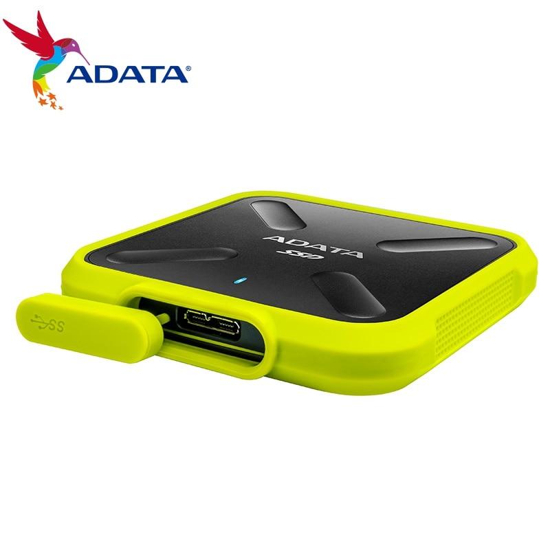ADATA portable ssd 1 TB 250G 512G External hard drive External Solid State Drive USB 3.1 SD700 4