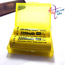 Фотография 2PCS 100% New Original NCR18650B 3.7 v 3200 mah 18650 Lithium Rechargeable Battery  Flashlight batteries