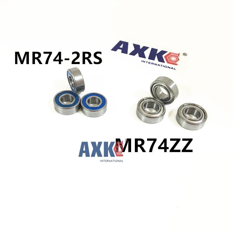 Free Shipping 10 PCS MR74ZZ  MR74-2RS Bearings 4x7x2.5 mm Miniature Ball Bearings L-740ZZ free shipping 10 pcs 684zz 684z 684 bearings 4x9x4 mm miniature ball bearings l 940zz abec5