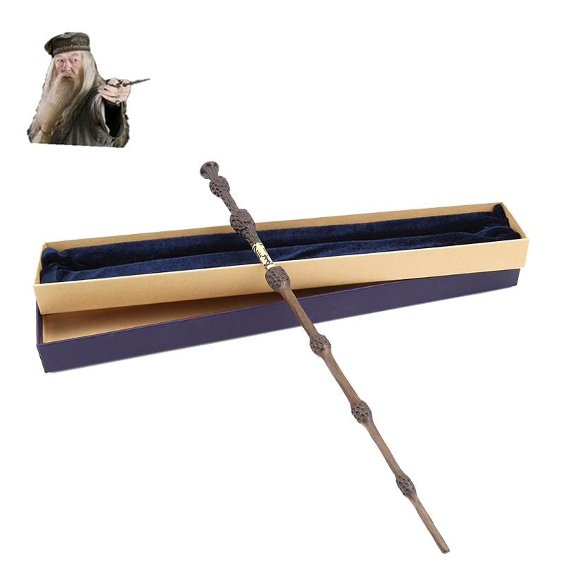 Metal core albus dumbledore magic wand harry potter for Harry potter professor dumbledore wand