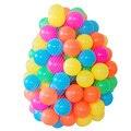 50 pcs oceano bolas ecológicas colorido plástico macio pe piscina de água do oceano onda bola ao ar livre fun baby toys