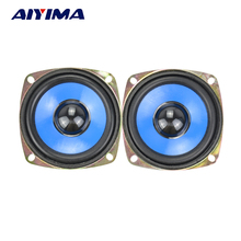 AIYIMA 2Pcs 3Inch 4Ohm 5W Tweeter Portable Loudspeakers Full Frequency Anti-Magnetic Mini Stereo LCD TV Computer Speakers