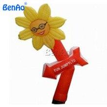 AD081 BenAo+ вентилятор 5 м огромные рекламные весело надувной цветок солнца sky dancer двор украшения