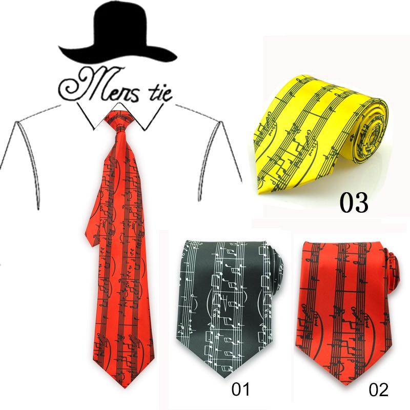 Módní 10cm Wide 3 Straight Spectrum Music Note Black Red Mix - Příslušenství pro oděvy