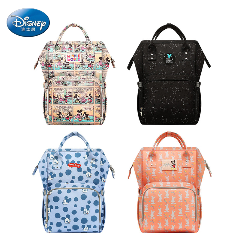 DISNEY Backpack For Moms Diaper Maternity Nappy Bag Large Capacity Bolso Maternal Wheelchairs Baby Bag For Mother Large CapacityDISNEY Backpack For Moms Diaper Maternity Nappy Bag Large Capacity Bolso Maternal Wheelchairs Baby Bag For Mother Large Capacity