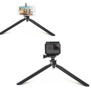 Image 3 - Anordsem Accessories Extendable Selfie Stick Monopod Mount Tripod for GoPro Hero 8 7 6 5 4 sj DJI Action Cameras For XiaomiYI 4K