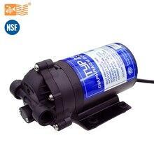 Coronwater bomba de refuerzo de agua RO 24V 50gpd, aumento de la presión del sistema de ósmosis inversa, 2500NH