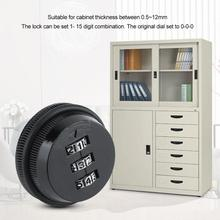 Digital Cabinet Password Lock Electronic Cabinet Zinc Alloy Code Combination Cam Lock smart Password Office Cabinet Lock Locker digital electronic smart lever locks handle password passage entry satin chrome password lock