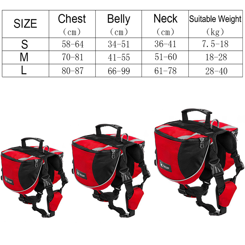 800 Dog Harness For Medium Dogs Puppy Harness Backpack Carrier Pet Vest Harness Outdoor Training Dog Harness For Small Dogs (16)_