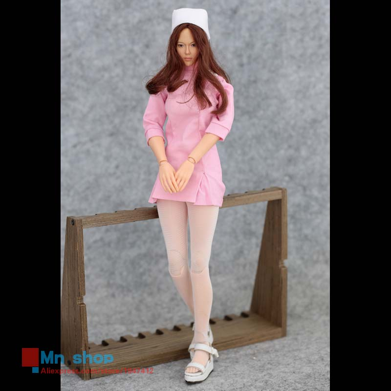 Sexy 1/6 Scale Nurse Customize Clothing Accessories For Phicen Female Seamless Body Fit 12'' Action Figure Toys sexy 1 6 scale customize clothing for 12 phicen female large medium bust figure cowgirl doll toys accessories p20