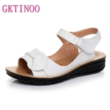 GKTINOO 2020 Summer Women Sandals Shoes Woman Vintage Ladies