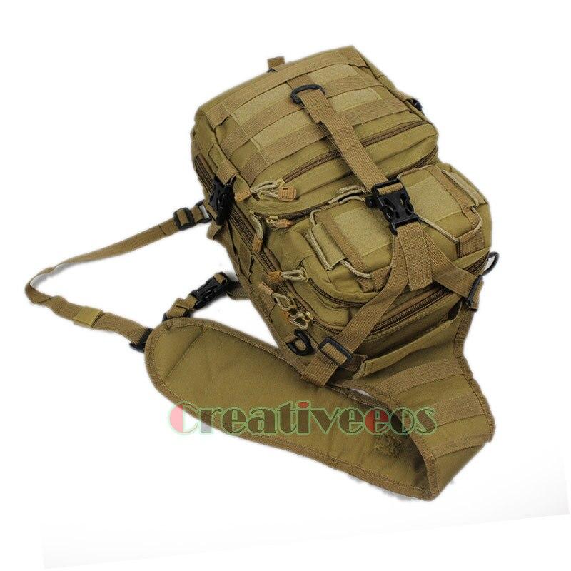 montando bolsa corpo cruz homensageiro Material Composição : 600d Nylon