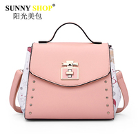 SUNNY SHOP Fashion Bags Handbags Women Famous Brand Shoulder Bag Casual Ladies Hand Bags Crossbody Bag