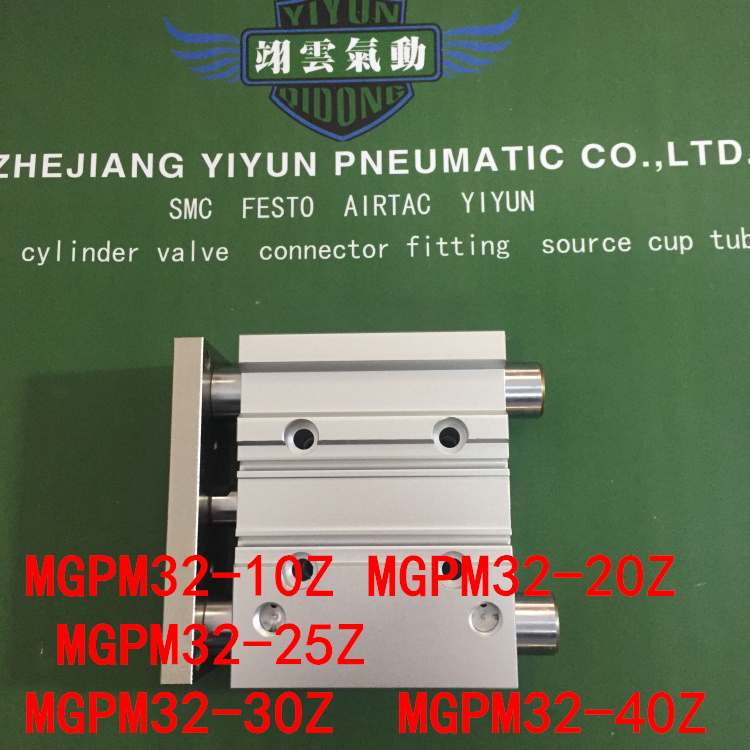 MGPM32-10A MGPM32-20A MGPM32-25A MGPM32-30A MGPM32-40A MGPL Pneumatic components Thin three Rod Guide Pneumatic Cylinder hlq25 75s 100s 125s 150s 10a 20a 30a 40a 50a 10b 20b 30b 40b 50b airtac sliding table cylinder