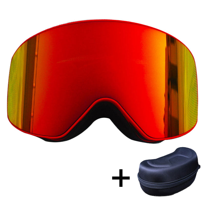 BENICE New Design Anti-fog Ski Glasses/UV- Protection Multi-Color double lens ski Snowboard skiing eyewear magnetic ski goggles