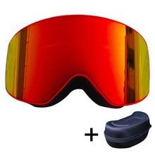 f36ceb51645 BENICE New Design Anti-fog Ski Glasses UV- Protection Multi-Color double