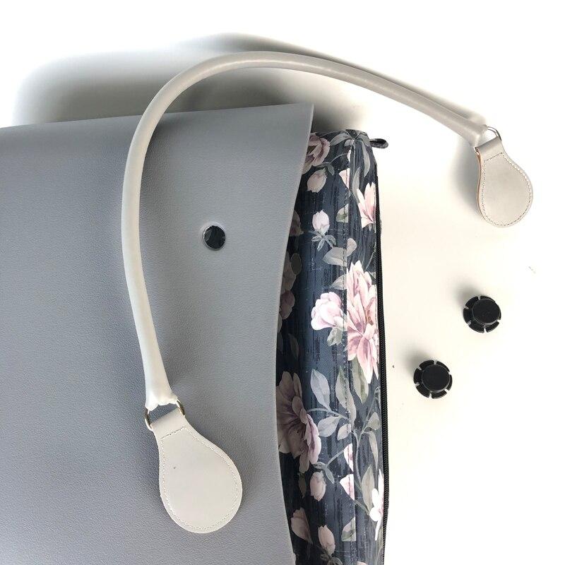 Classico formato EVA Body Bag con Inserto impermeabile Tasca Interna Maniglie In Gomma di Silicone Donne Obag O di Stile del Sacchetto Della Borsa-in Borse con manici da Valigie e borse su  Gruppo 3