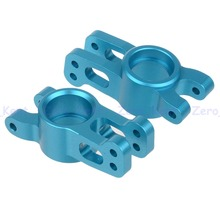 860008 Alum Blue Rear Hub Carrier 2P For HSP RC 1/8 On-Road Truck Upgrade Parts