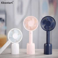 USB Mini Ventilador 3 Speed Air Conditioning Fans Handheld Cooling Yelpaze Portable Fan For Outdoor Office Battery Artic Air Fan