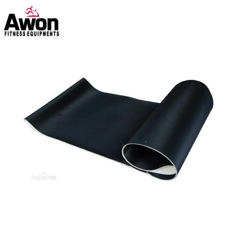 Tapis roulant pièces tapis roulant motorisé ceinture de course OEM commandes PVC ceinture de course pour tapis roulant ceinture personnalisée taille FN