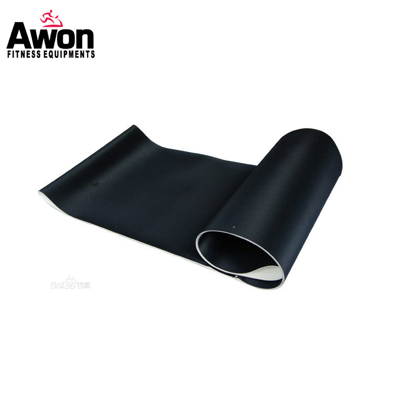 Treadmill Parts Motorized Treadmill Running Belt OEM orders PVC Running belt for Treadmill Belt Customized size pvc treadmill running belt exercise diamond pattern black color treadmill belt