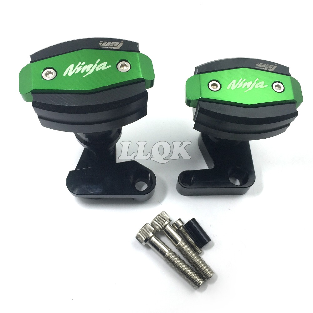 Motorcycle Accessories CNC Engine Cover Frame Sliders Anti Crash protector For kawasaki ZX-10R ZX10R ZX 10R 2008 2009 2010 08 09 free shipping motorcycle engine cover frame sliders crash protector for honda cbr1000rr 2008 2009 2010 2011 2012