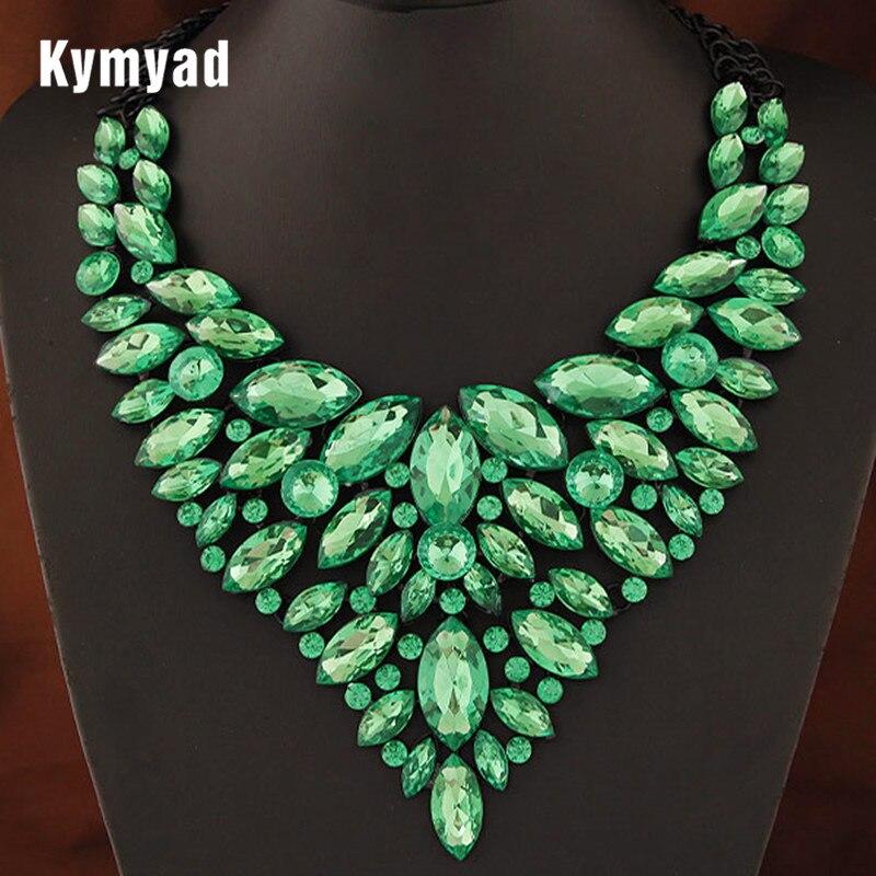 Collier Bijoux Necklace Women Multi layer Chain Necklace Collares Crystal Flower Necklaces & Pendants Maxi Boho Vintage Jewellry