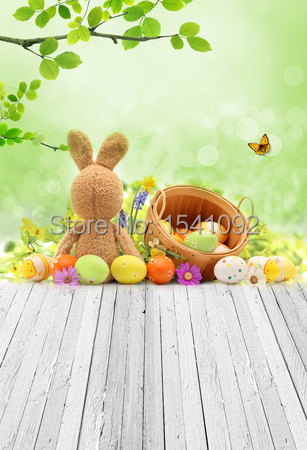 1.5X3M Customize vinyl photography backdrop newborn easter wood computer print  background for photo studio F060 3x3m customize vinyl photography backdrop star flag wood computer print background for photo studio l483