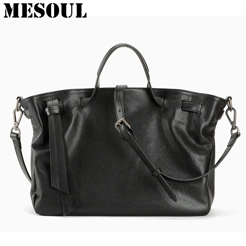 Luxury Top Handle Handbags Genuine Leather Tote Bag Women bags Fashion Soft Cow Leather Black Shoulder Bag Ladies bolsa feminina kzni real leather tote bag high quality women leather handbags top handle bags purses and handbags bolsa feminina pochette 9057
