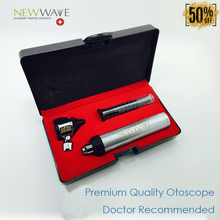 Super High Quality With Cheap Price- Hot Sale Free Shipping-Premium Optic Otoscope LED kit set Metal Portable Medical Ear Care