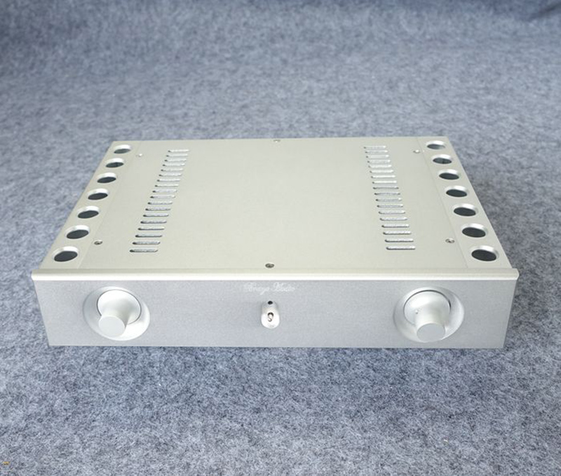 цена на BZ3206A Aluminum enclosure Preamp chassis Power amplifier case/box size 321*62*230mm