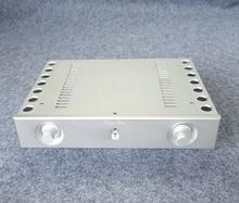 BZ3206A Aluminum enclosure Preamp chassis Power amplifier case/box size 321*62*230mm