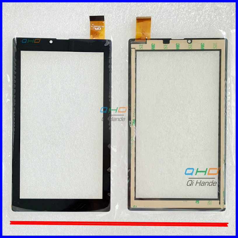 New For 7'' Inch FPC-DP070002-F4 Touch Screen Digitizer Sensor Tablet PC Replacement Front Panel High Quality new 7 touch screen digitizer replacement fpc ctp 0700 066v7 1 tablet pc