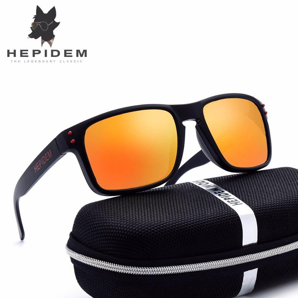 HEPIDEM Classic Men SportS Sunglasses Women Brand Designer Squared Cheap China Sun Glasses for Men Doklies UV400 Mirror with box