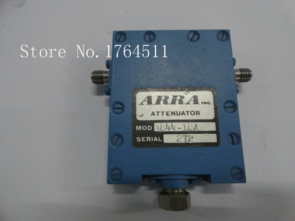 [BELLA] Adjustable Variable Attenuator ARRA 3844-18 18dB 10.6-10.8GHz Extension
