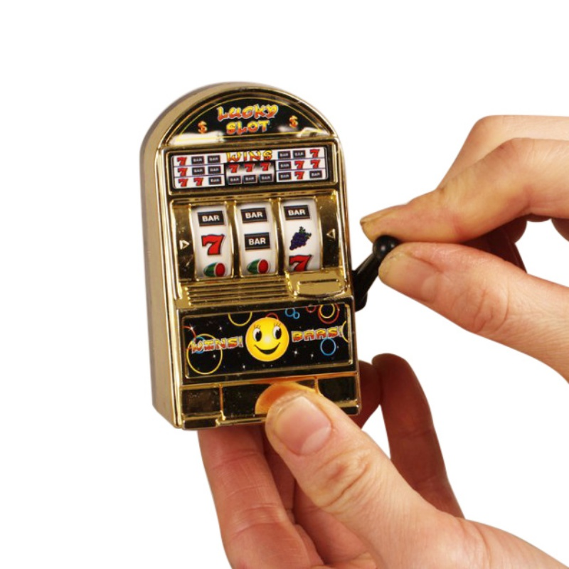 Children' S Mini New Toy Jackpot Slot Lucky Machine Healthy Style Gift Fun Safe Kids Birthday For