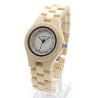 2017 Luxury Ladies Wristwatches BOBO BIRD Full Bamboo Watches Newest Brand Quartz Women Watch Relogio Feminino