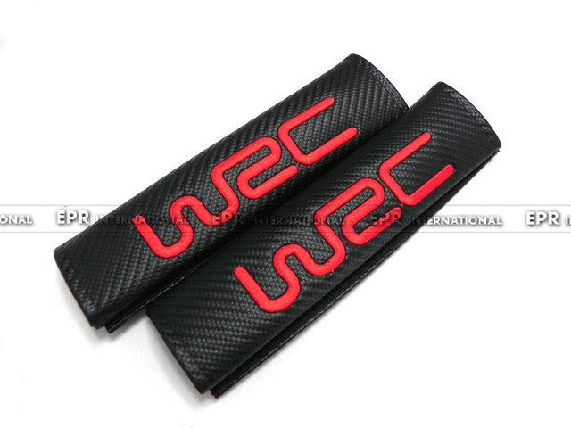 De Carbono WRC Cubierta Del Cinturón de seguridad Universal JDM Car-styling