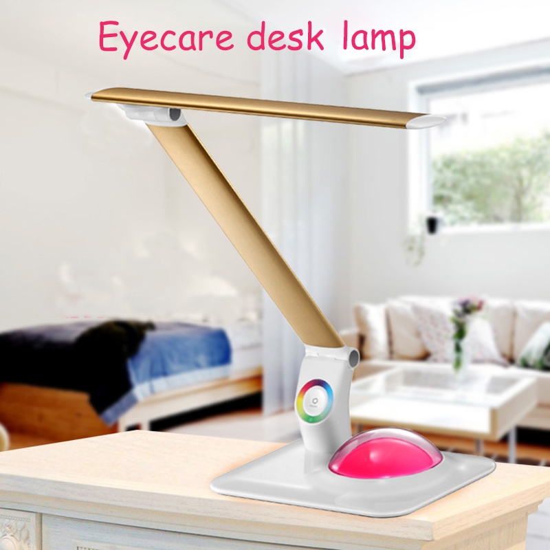 Multi-function eyecare lamp LED touch light reading lamp 3-Level brightness lamp portable office lamp 903 footprint reading library 3000 alternative energy [book with multi rom x1 ]