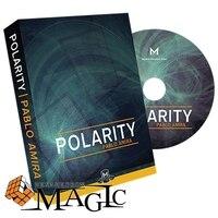 2017 Nieuwe Polariteit door Pablo Amira classic, mentalisme, illusie close-up kaart goocheltruc producten murphys/groothandel