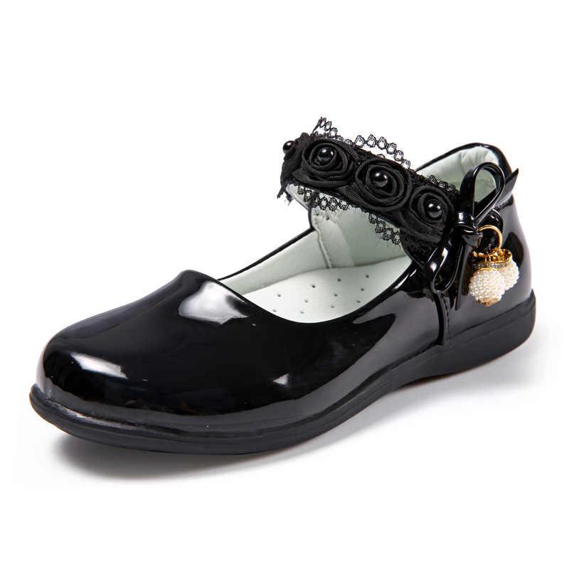 School shoes for girls children's black
