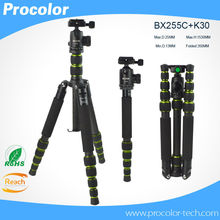 professional Carbon Fiber lightweight Tripod For DSLR Camera Change Monopod / Panoramic Ball Head / photo tripe camera stand