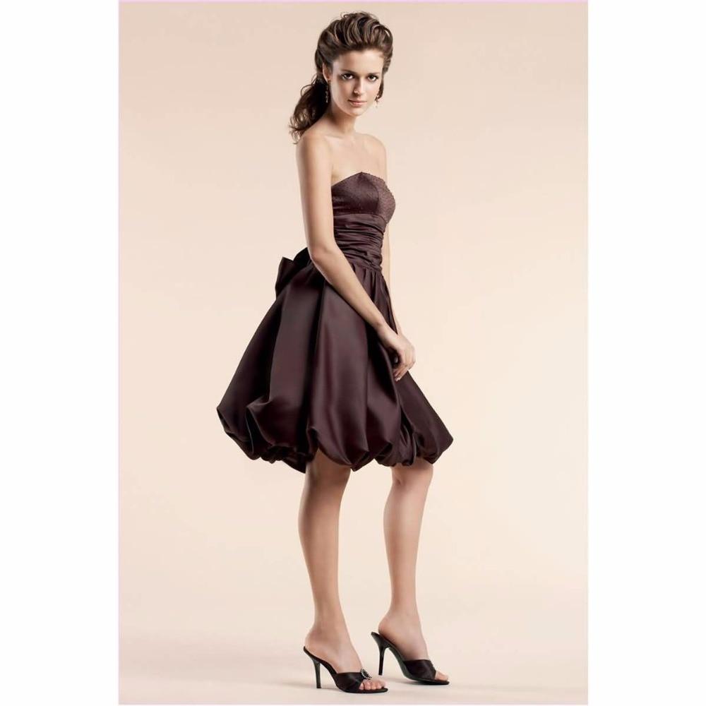 Chocolate Wedding Dresses_Wedding Dresses_dressesss