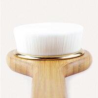 Bath Brush Strength Long Handle Adult Non slip Superior Quality Massage Nanmu Rub the Back Comfortable Soft Hair Serviceable