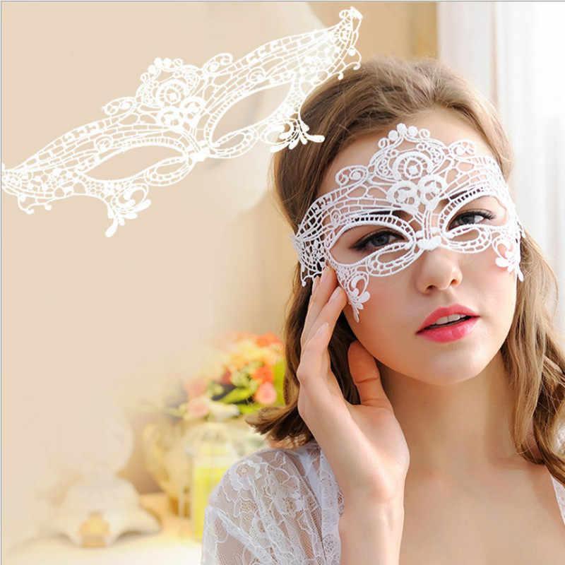 Sexy Máscara Do Laço Do Partido Do Disfarce de Halloween Máscaras Cosplay Catwoman Eye Mulheres Masque Carnaval Maske Carnaval Maska Rímel Moda